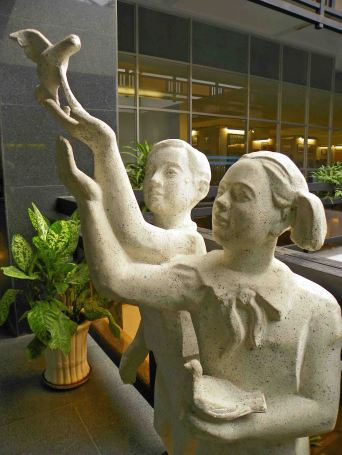 DoveSculpture