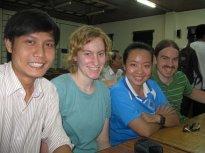 Sara & David with Vietnamese Students_3495