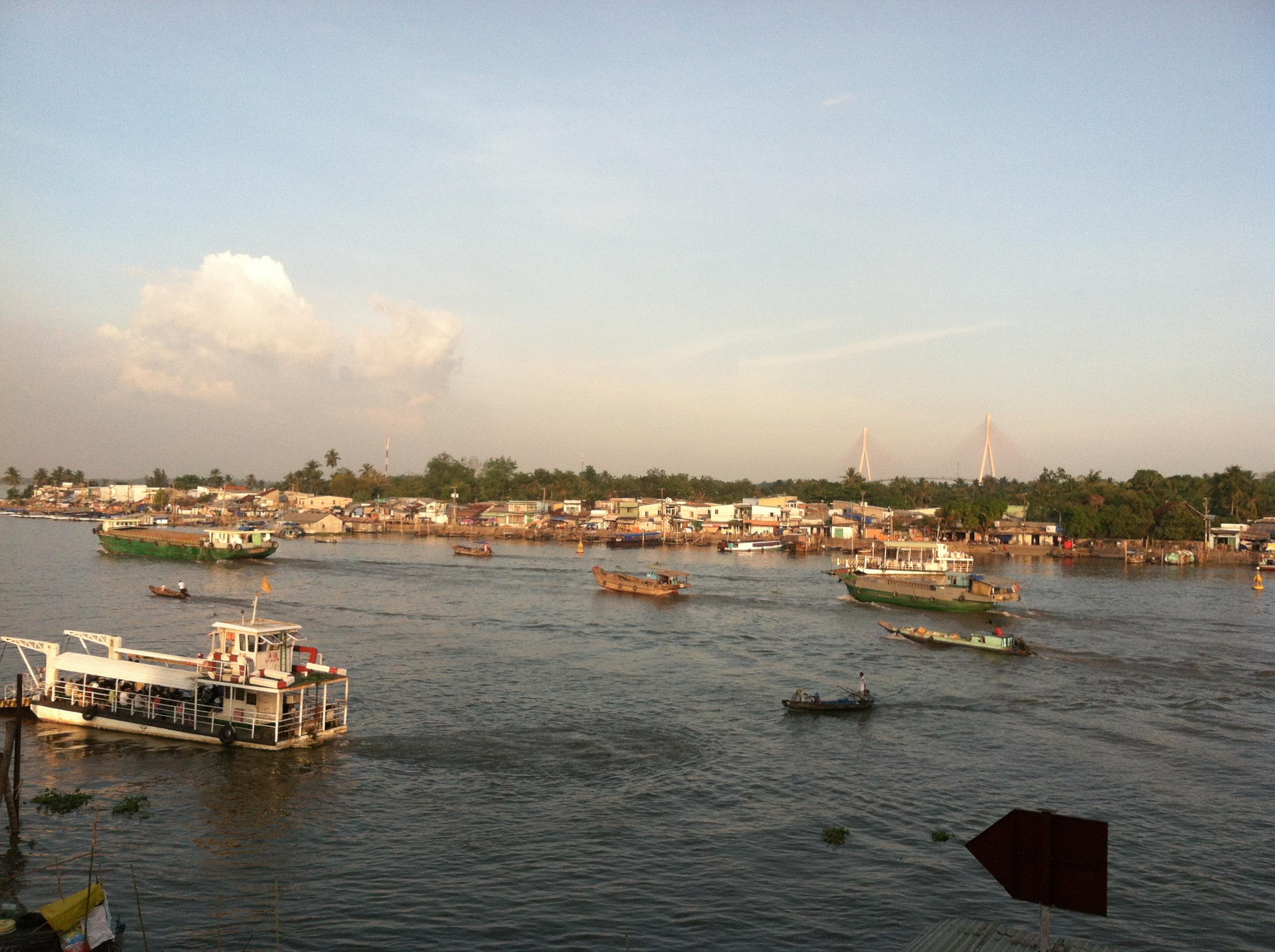 Дельта реки меконг фото 8