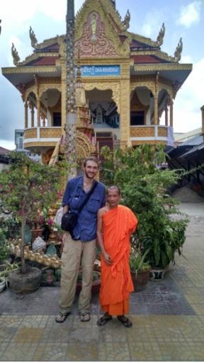 NatSmith&BuddhistMonk