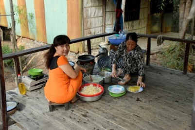 WomenPreparing Food