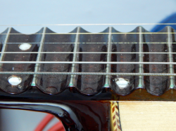 Curved Guitar Frets