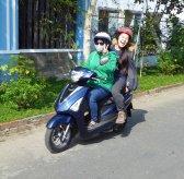 Ming on Motorbike 235